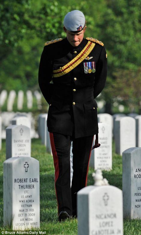 Prince Harry at Arlington Cemetery http://nikefreerun3.zitecode.com http://allfreeshoesstyle.webstarts.com http://loverunningshoes.webstarts.com http://isabelmarant.zitecode.com
