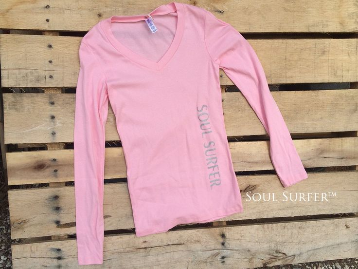 Bella Longsleeve • 98% Cotton • Soft Pink • Screen printed by hand in Silver Ink  In Stock Size: Medium  Inventory reduction sale to make room for new merchandise. Everything must go! Sale Applies to this size only. Thanks so much for viewing my shop! Ashley