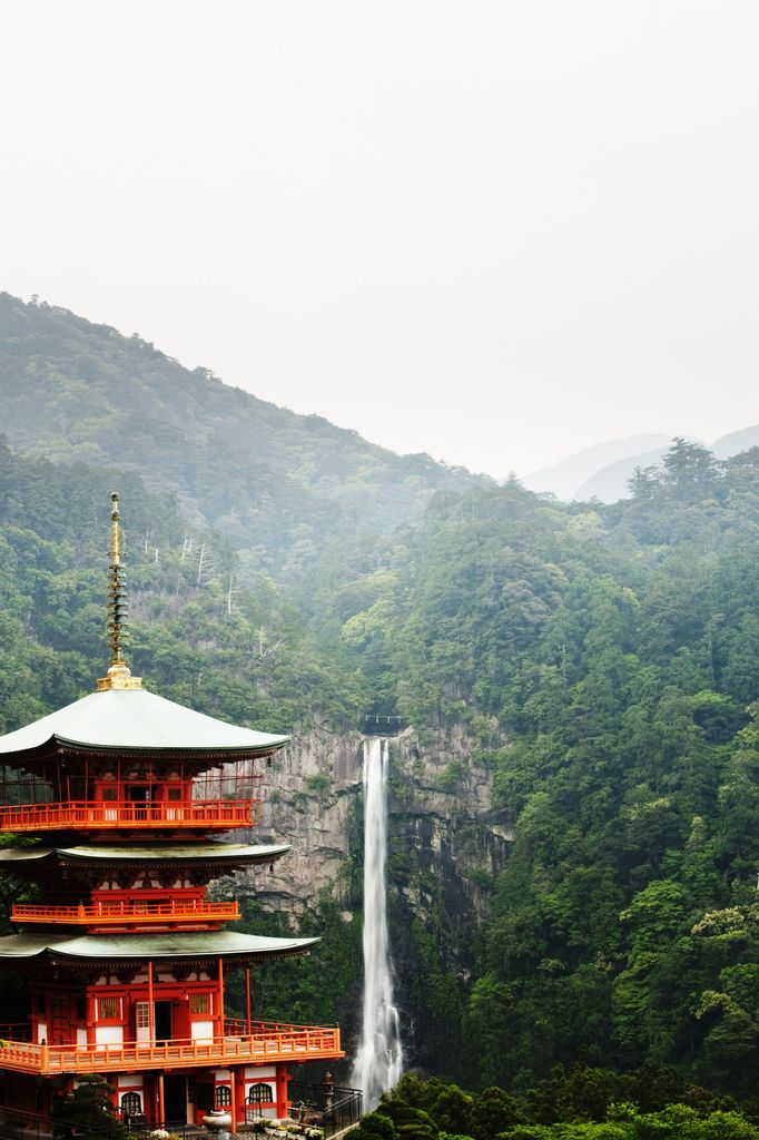 Nachi Falls, Seigantoji | JapanJapan Bi, Favorite Places, Beautiful, Wanderlust Travel, Asia, Places I D, Incr Places, Skye Hohmann, Nachi Fall