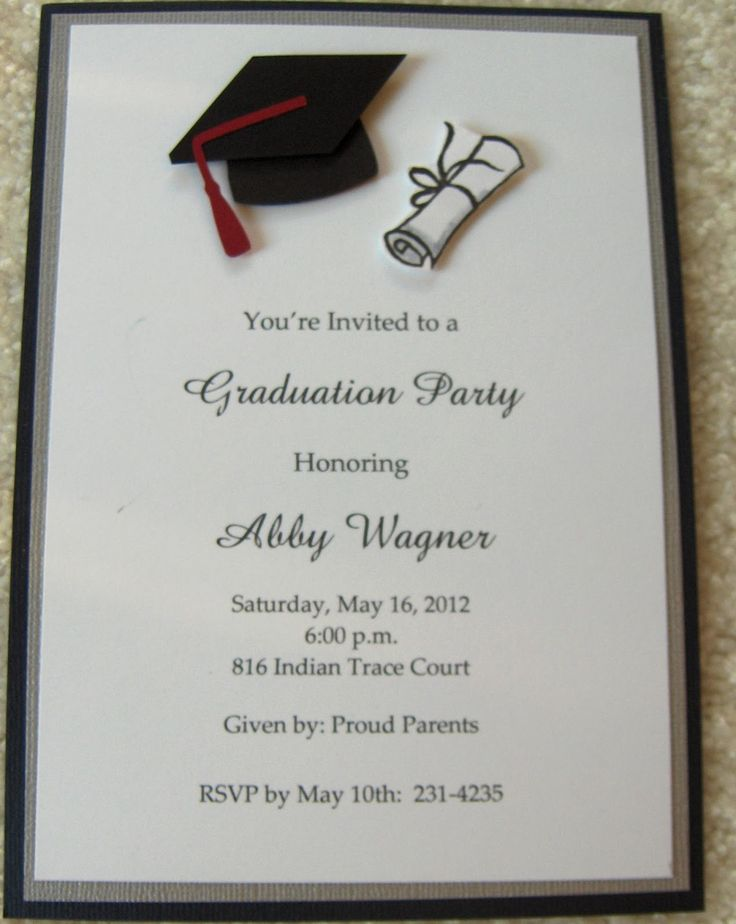 free graduation announcement