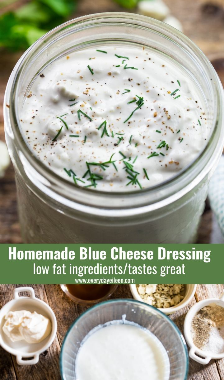 Homemade Blue Cheese Dressing In 2020 Blue Cheese Dressing Cooking Recipes Healthy Blue Cheese