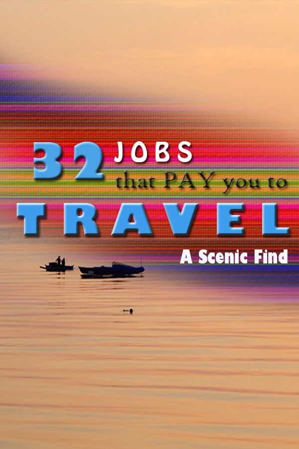 32 Amazing Jobs That Involve Travelling Travel Jobs Traveling