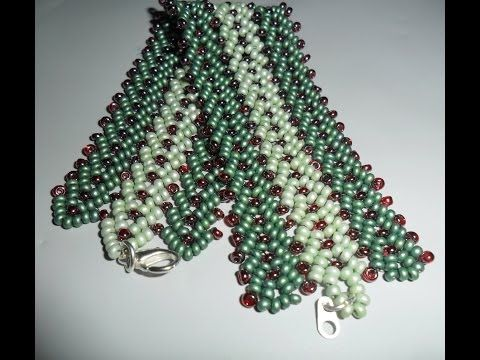How to make tripple or more st-petersburg stitch ~ Seed Bead Tutorials