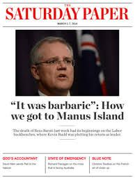 Image result for saturday paper