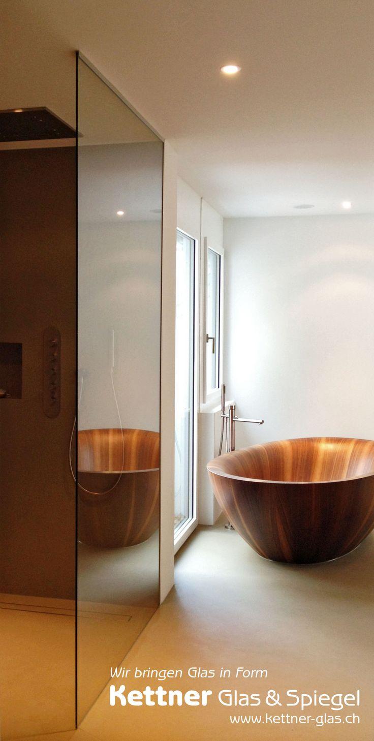 Dusche halbhoch gemauert glas  17 besten Duschtrennwände/Duschwände Bilder auf Pinterest ...
