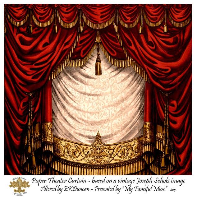 EKDuncan - My Fanciful Muse: Cherub Toy Theater - Part 2