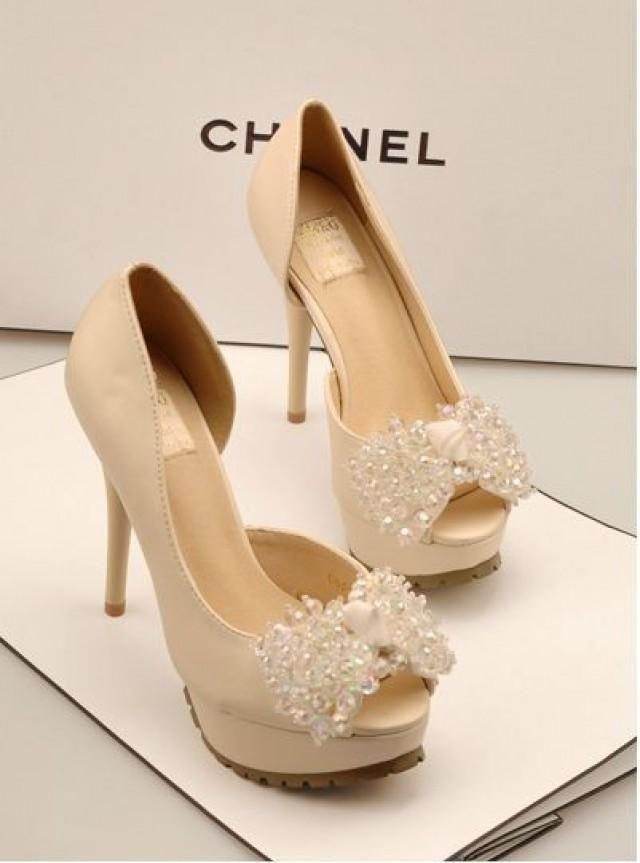 Chanel Wedding Shoes