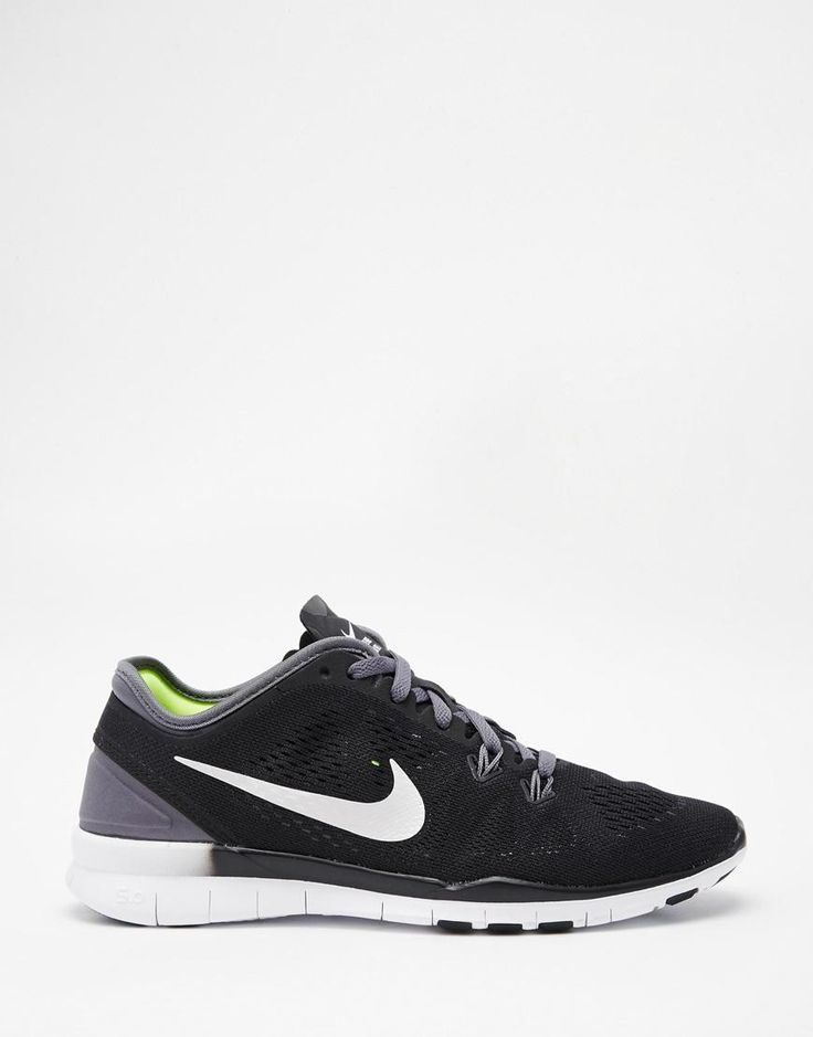 Shop Nike Free TR Fit 5 Black Trainers at ASOS.