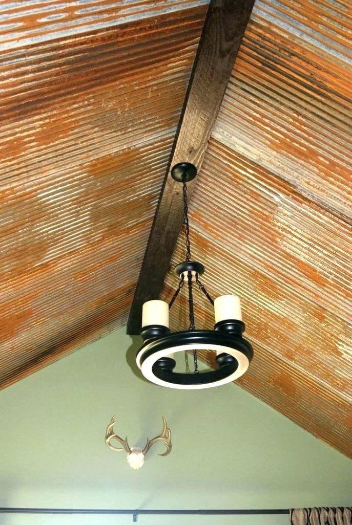 Barn Tin Ceiling Rustic Modern Kitchen Rustic Kitchen Old Barn Tin Barn Tin Corrugated Tin Ceiling Tin Ceiling