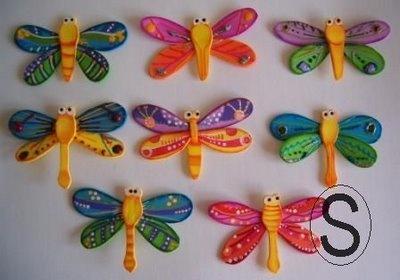 - Miss Manus -: Libelulas Multicolores