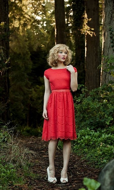 """Shabby Apple """"Red Queen"""" Dress."""
