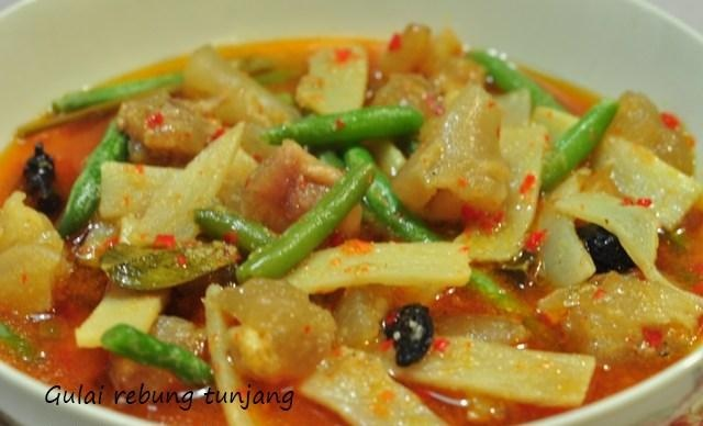 Indonesian Recipes : The Goulash Of Bamboo Shoots With Egg . Please visit http://icooking.info/indonesian-recipes-the-goulash/ to see the recipes