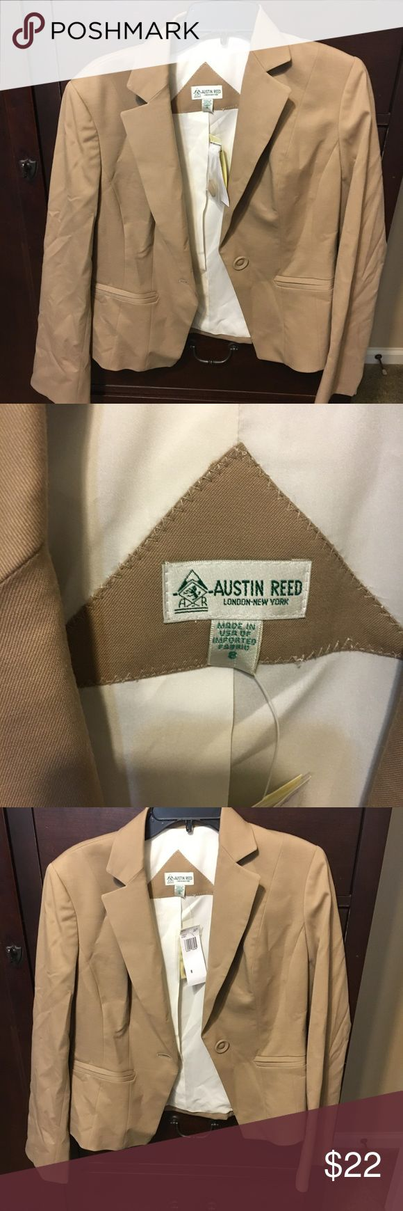 Tan blazer Great tan blazer for the fall! Never worn, new with tags Austin Reed Jackets & Coats Blazers