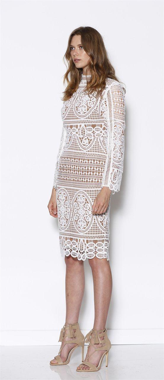 MANIA LACE DRESS - Siss & Co.