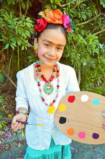 Frida Kahlo Costume. etsy.