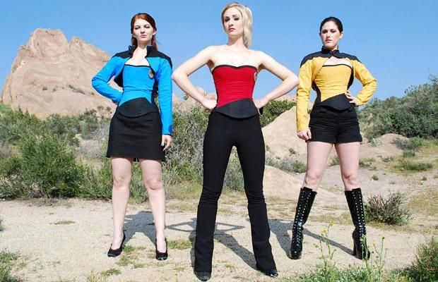 Star Trek Corsets - lots of comic/movie/game fan girl corsets here
