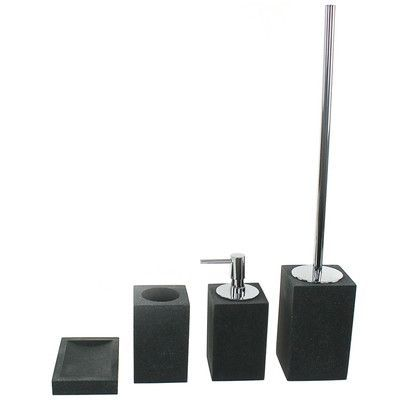 Gedy by Nameeks Oleandro 4-Piece Bathroom Accessory Set Color: