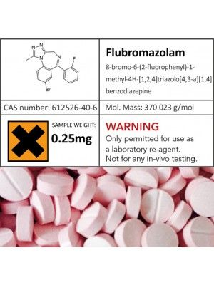 Buy Flubromazolam on Pinojar | Flubromazolam is a benzodiazepine class long lasting psychoactive drug. This drug produces amnesic affects, anti-nausea