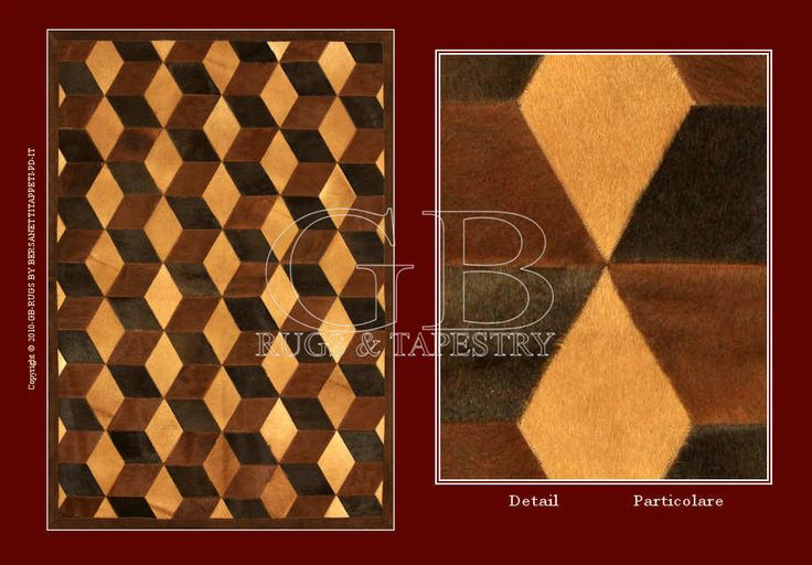 LEATHER CARPETS PATCHWORK _140000001209