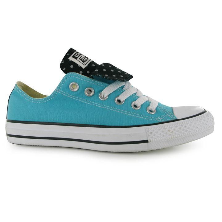Converse | Ox Double Tongue Low Canvas Trainers | Women's Canvas Trainers