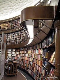 Gunnar Apslund, Stockholms stadsbibliotek by Bohemiananu