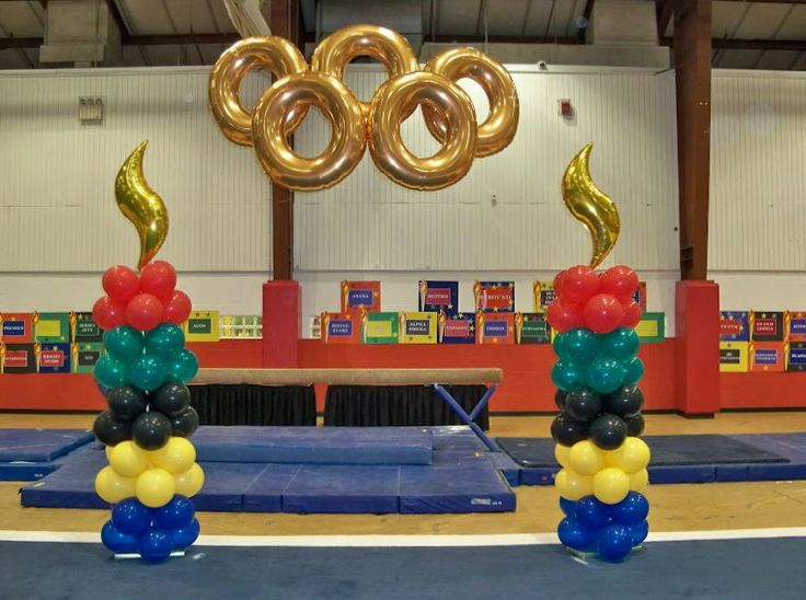 Olympic inspired ideas a collection of ideas to try about for Balloon decoration london