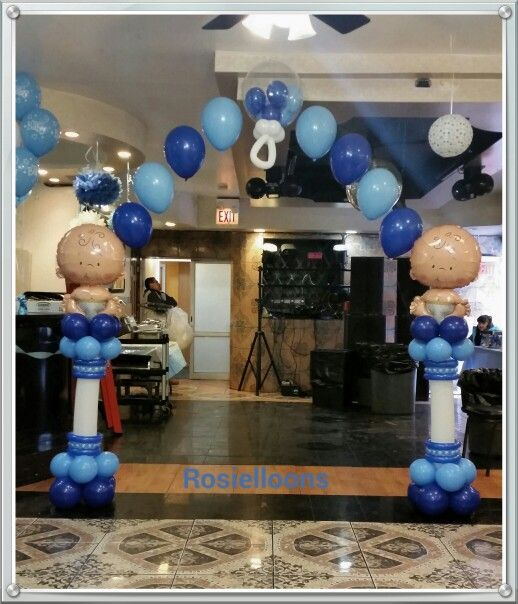 Rosielloons. Baby Shower BalloonsBaby Shower GamesBoy ...