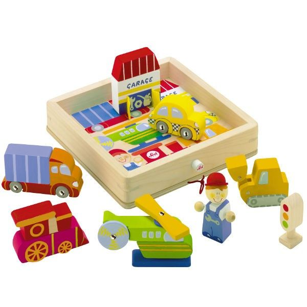 Kids Toys to You | Play Puzzle Transport - PUZZLES A three dimensional puzzle, where kids can create their own little play world, and then pack all the pieces back in the handy box with lid.  $59 www.kidstoystoyou.com.au