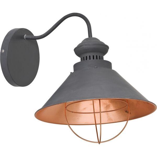 Kinkiet LAMPA ścienna LOFT CHOCOLATE 5058 Nowodvorski miedź brązowy - MLAMP.pl