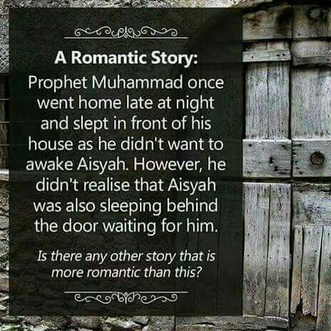 Love this, Subhan Allah the best and halal love story