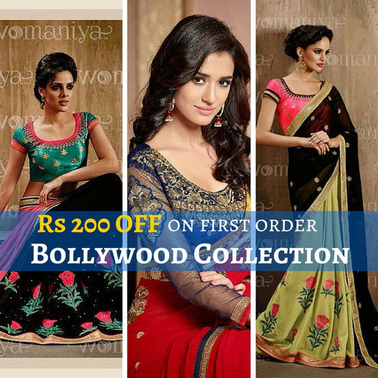 Latest Bollywood Collection Outfits only at  #NewIndiaFashion Get Rs. 200 OFF on First Order