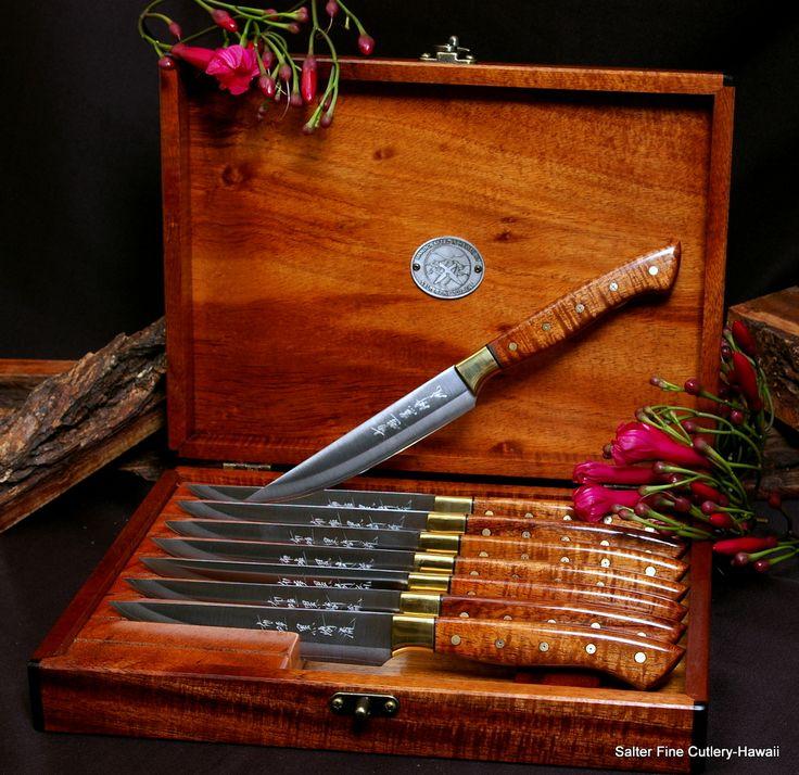 91 Best Custom Handmade Steak Knives Images On Pinterest