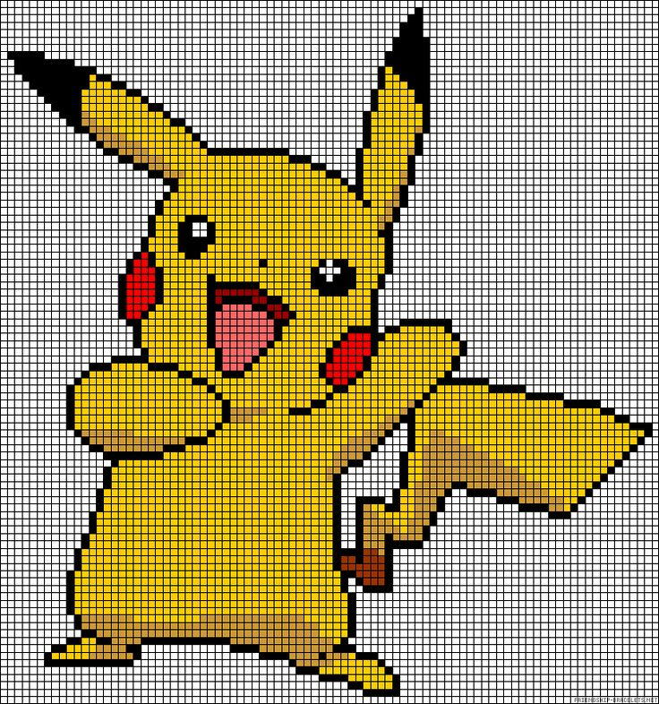 picachu pokemon perler beads patterns patterns kid