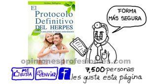 El Protocolo Definitivo del Herpes Revisión : Cómo funciona?