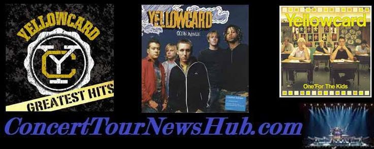 Updated Yellowcard 2015 U.S. Tour Schedule With New Found Glory - Updated @Yellowcard @newfoundglory #MusicNews #TourSchedule