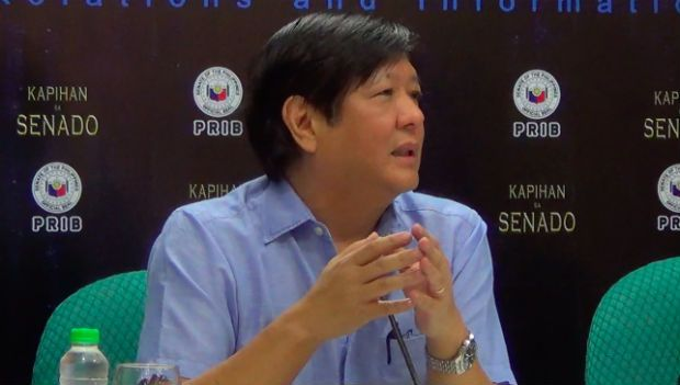 Senators sign BBL report; debates start next week  The Senate will start tackling on the floor next week its much awaited version of the proposed Bangsamoro Basic Law (BBL) after 17 senators signed the committee report of Sen. Ferdinand Marcos Jr. on