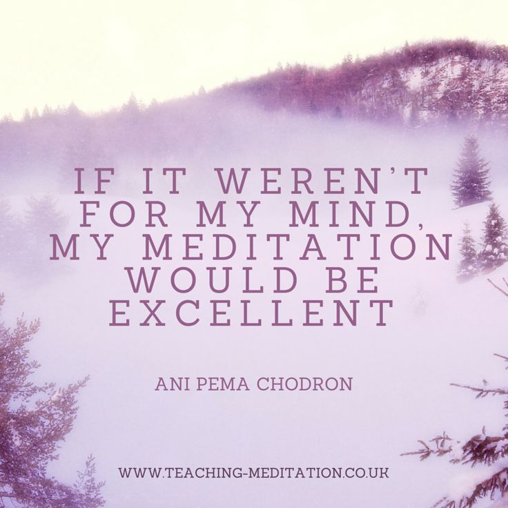 This Pema Chodron quote is brilliant :)