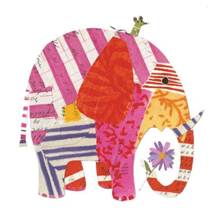 Lienzo Big Elephant de Art For Little Ones en www.achica.es