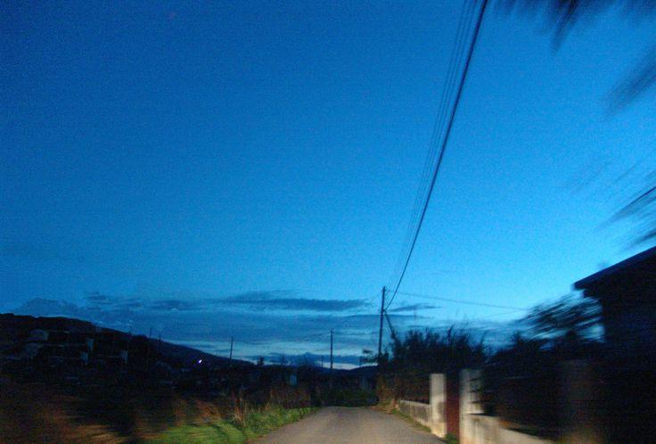 Blue hour!!