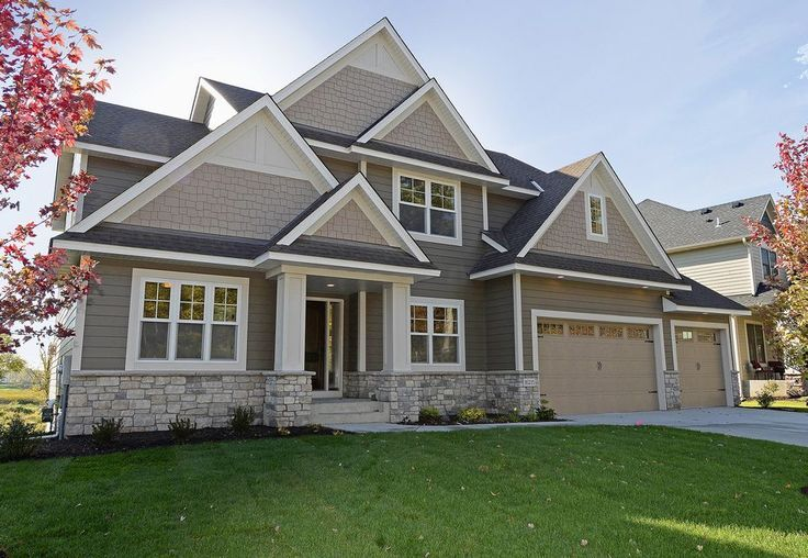 HardiePlank and Hardie Shingle Siding - Neutrals in Autumn