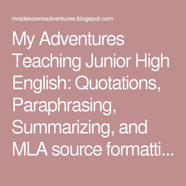 research papers for junior high students format Students may choose to complete a research paper, museum exhibit, dramatic   for example, high school history textbooks, biographies, retrospective.