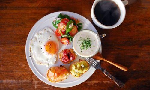 ワンプレート朝食