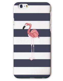 【fitting case】Iphonecase スマホケース スマホカバーおしゃれ フラミンゴ イラスト ボーダー デザイン