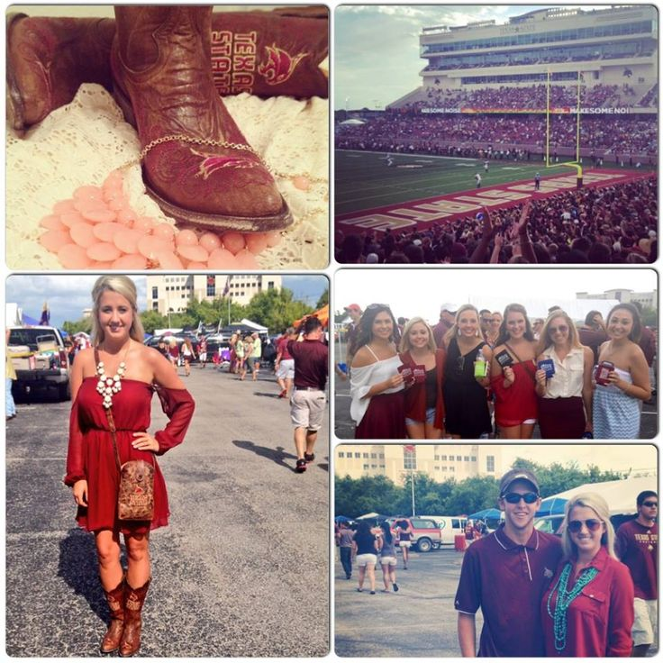Game Day Boots Allensboots Texas State University And Others