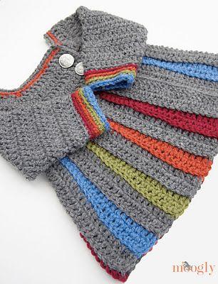 free crochet pattern baby sweater