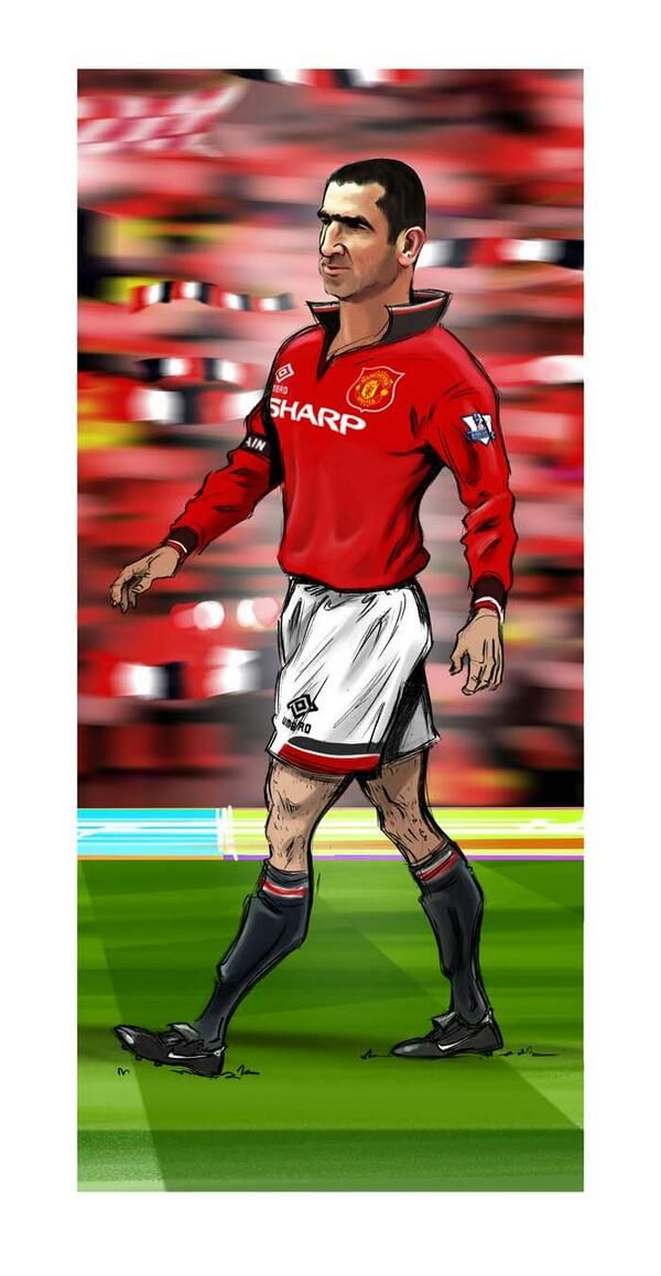Eric Cantona artwork