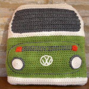 Crocheted Bay Campervan Front
