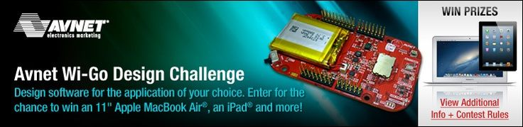 Avnet Wi-Go Design Challenge   As one of the world's largest distributors of electronics components and embedded solutions, Avnet Electronics Marketing invites our customers to design the latest wireless software. Using the Freescale Freedom Board and Avnet Wi-Go Module, we are looking for you to de...