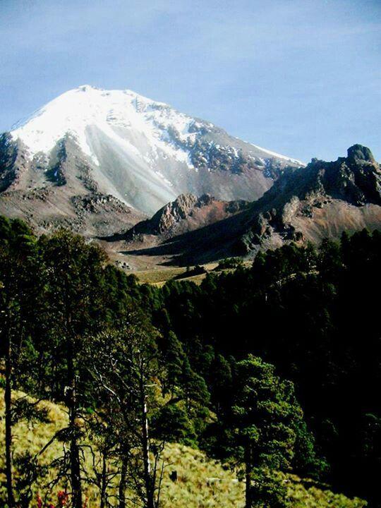 El Pico de Orizaba ~ Veracruz, Mexico . . . You can see this mountain from the main street in Orizaba. Majestic!