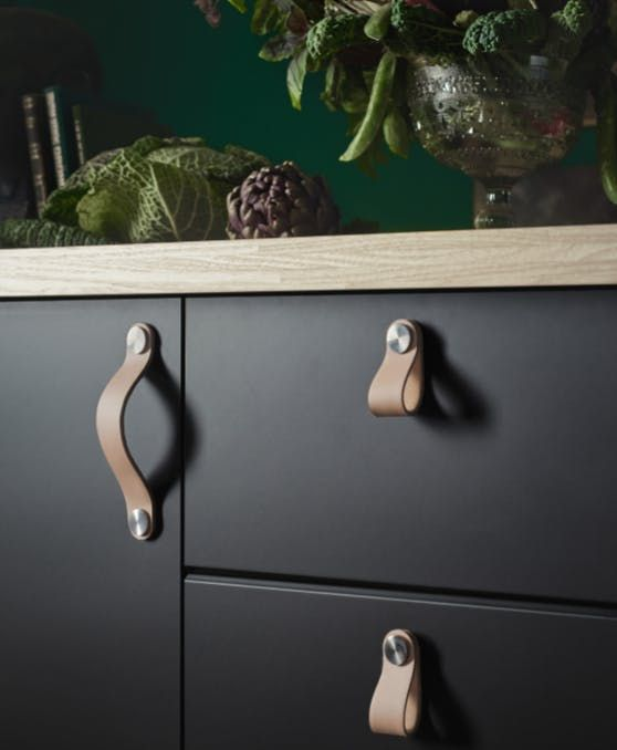 #1: OSTERNAS Leather Handles and Pulls — Top 10 Favorite New IKEA Products Countdown